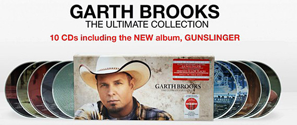 Country The Ultimate Collection: Garth Brooks 10 CD Box Erschienen